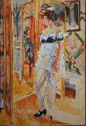 Rik Wouters Portrait of Mrs. Giroux oil